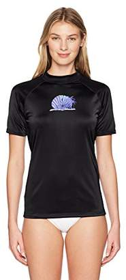 Kanu Surf Women's Alyssa UPF 50+ Short Sleeved Active Rashguard and Workout Top