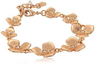 Lucky Brand Floral Link Bracelet