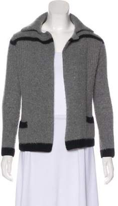 Chanel Wool & Angora Cardigan