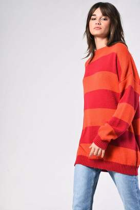 Glamorous **Striped Oversized Knit by Tall