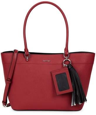 Calvin Klein Susan Small Leather Tote