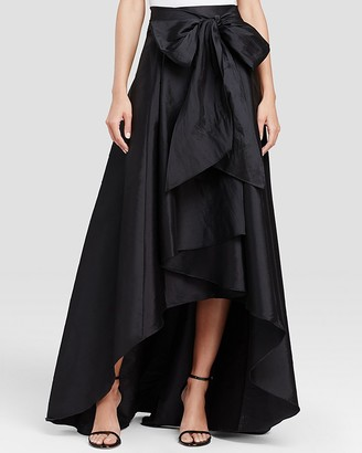 Adrianna Papell High/Low Ball Skirt $129 thestylecure.com