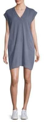 ATM Anthony Thomas Melillo Cotton V-Neck Dress