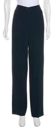 Salvatore Ferragamo High-Rise Wide-Leg Pants