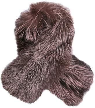 Lilly E Violetta Pink Fox Scarves