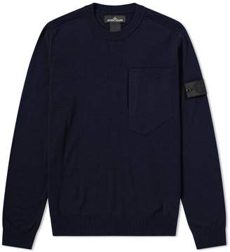 Stone Island Shadow Project Wool Crew Knit