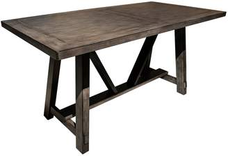Right2home Right2Home Farmhouse Trestle Dining Table