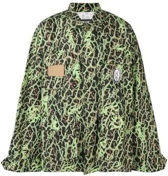 Sankuanz camouflage print shirt