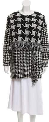 Stella McCartney Virgin Wool Patterned Sweater