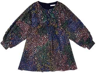Chloé Silk Petal Dress
