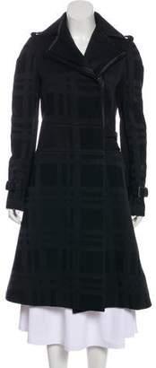 CNC Costume National Wool Knee-Length Coat