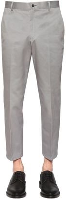 Skinny Cotton Chino Twill Pants $790 thestylecure.com