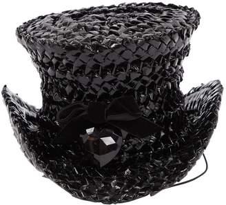 Stephen Jones Millinery Black Wicker Hats