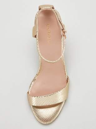 14fe51759 Carvela Gold Heeled Sandals For Women - ShopStyle UK