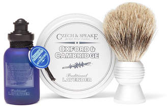 Czech & Speake Oxford & Cambridge Travel Shaving Set