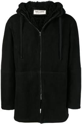Saint Laurent hooded coat