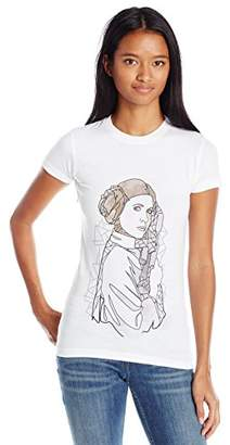Star Wars Women's Juniors Princess Leia T-Shirt