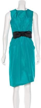 Prada Knee-Length Bow dress