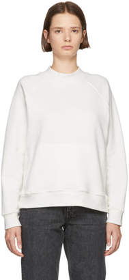 YMC White Touche Sweatshirt
