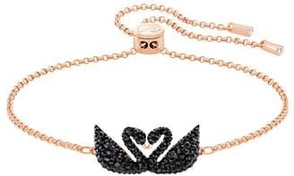 Swarovski Swan Lake Black Crystal Bracelet