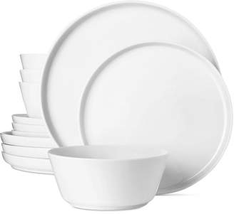 The Cellar Modern Coupe 12-Pc. Dinnerware Set
