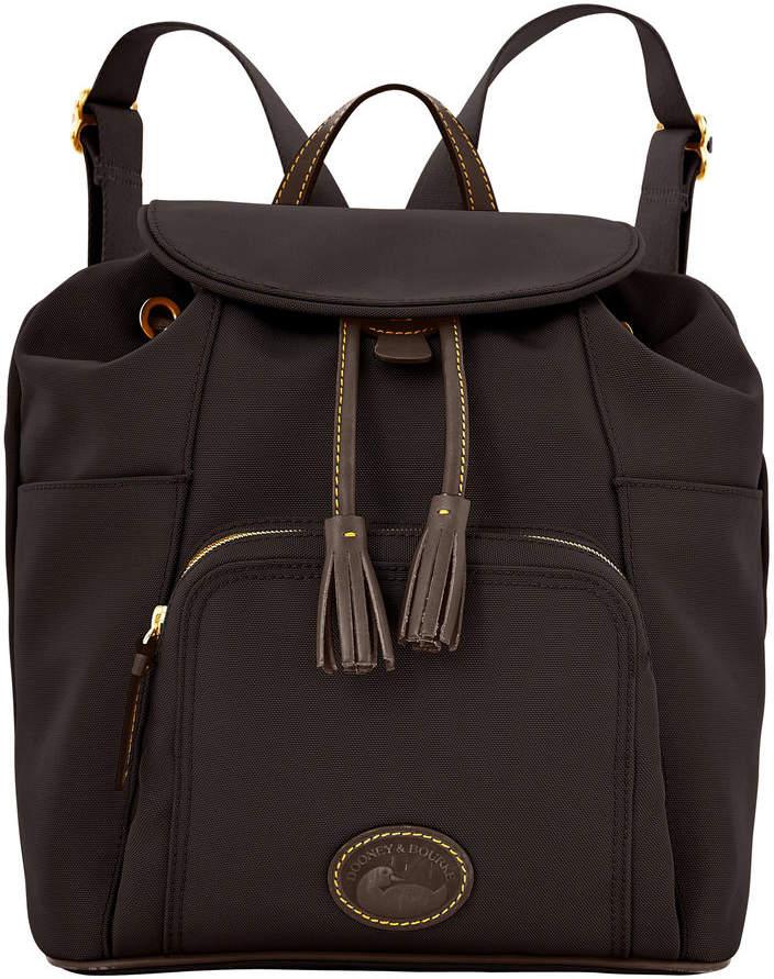 Dooney & Bourke Nylon Backpack - BLACK BLACK - STYLE
