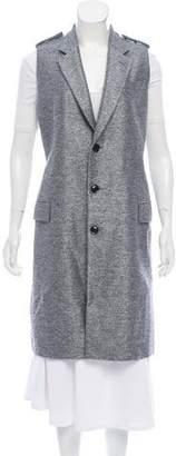 Toga Notch-Lapel Longline Vest