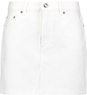 Marc by Marc Jacobs Denim Mini Skirt $148 thestylecure.com