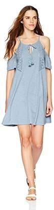 Roxy Junior's Enchanted Island Cold Shoulder Dress