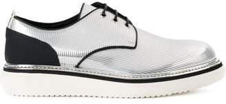 Bruno Bordese metallic Derby shoes