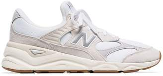 New Balance white and beige MSX90 trainers