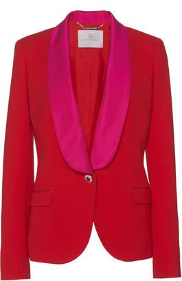 Ralph & Russo Classic Two-Tone Silk Tuxedo Jacket
