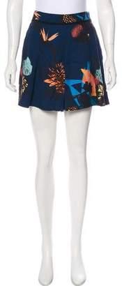 Proenza Schouler High-Rise Printed Shorts