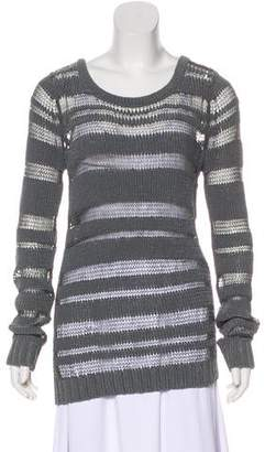 Rag & Bone Sheer-Panelled Sweater