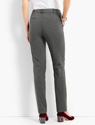 Talbots Seasonless Wool High-Waist Slim-Leg Pant