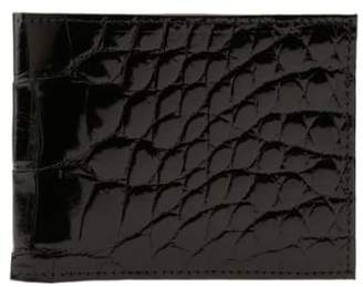 Martin Dingman Genuine American Alligator Billfold