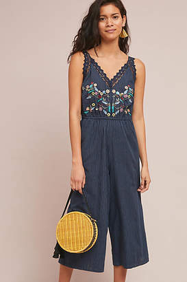 d.RA Lacy Embroidered Jumpsuit