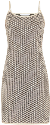 Alvera Metallic Lace Slip Dress $498 thestylecure.com