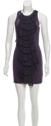 3.1 Phillip Lim Sleeveless Ruffle-Accented Top