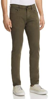 Hudson Axl Skinny Fit Jeans in Fatigue Green