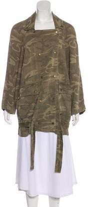Current/Elliott Camouflage Utility Jacket