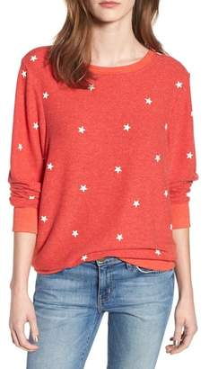 Wildfox Couture Star Baggy Beach Pullover