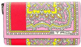 Etro large paisley wallet