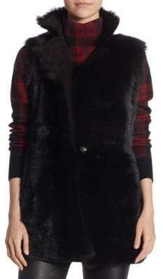 Akris Reversible Shearling Vest