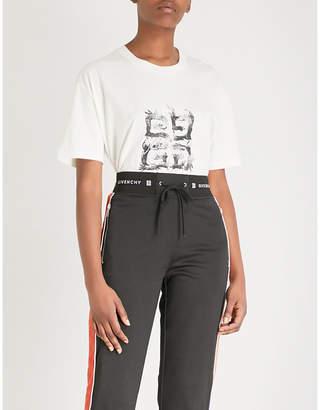 Givenchy 4G logo-print cotton-jersey T-shirt