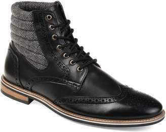 Thomas Laboratories AND VINE Apollo Quilted Wingtip Boot