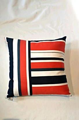 Elaine Smith Riviera Stripe Pillow