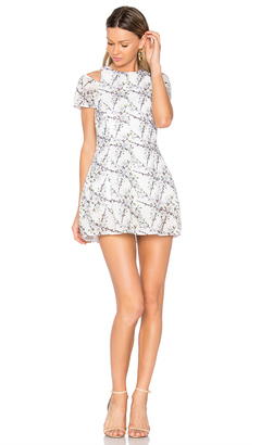 ELLIATT Euphoria Cold Shoulder Dress $155 thestylecure.com
