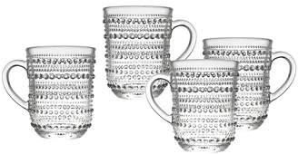 Godinger Lumina Set Of 4 12Oz Mugs