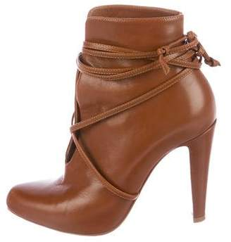 Christian Louboutin S.I.T. Rain 100 Leather Ankle Boots
